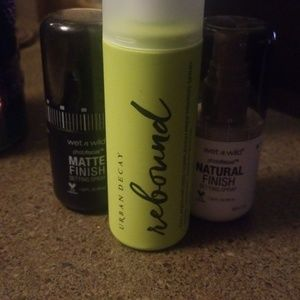 Urban Decay Rebound Priming Spray w FREEBIES